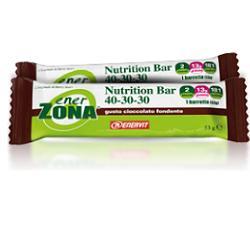 EnerZona Nutrition Bar 40-30-30 Gusto Cioccolato Fondente 1 Pezzo 53g - Zfarmacia