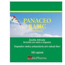 PANACEO BASIC 180 CPS ZEOLITE ATTIVATA ARRICCHITA CON DOLOMITE (CALCIO E MAGNESIO) - Farmaseller