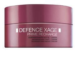 DEFENCE XAGE PRIME CREMA RIDENSIFICANTE NOTTE 50 ML - Farmacia 33