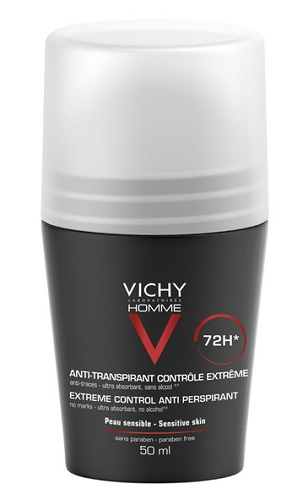 VICHY HOMME DEO ROLL-ON ANTI-TRASPIRANTE 50 ML - Farmaunclick.it