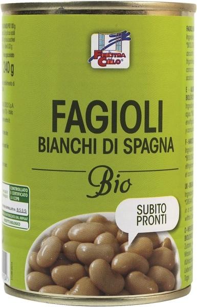 FAGIOLI BIANCHI DI SPAGNA PRONTI BIO 400 G - Farmaseller