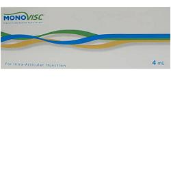 SIRINGA INTRA-ARTICOLARE MONOVISC ACIDO IALURONICO 20MG/ML 4 ML - Farmaconvenienza.it