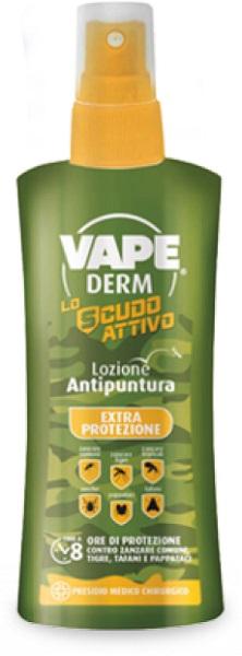 VAPEDERM EXTRA LOZIONE ANTI PUNTURA 100 ML - Carafarmacia.it
