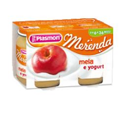 PLASMON OMOGENEIZZATO YOGURT MELA 120 G X 2 PEZZI - Farmabros.it