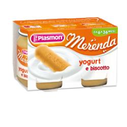 PLASMON OMOGENEIZZATO YOGURT BISCOTTO 120 G X 2 PEZZI - Farmabros.it