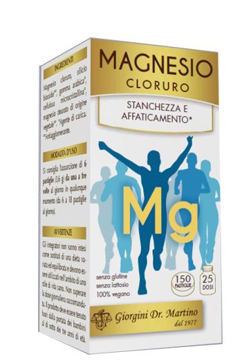 Dr. Giorgini Magnesio Cloruro Integratore Ricostituente 150 Pastiglie