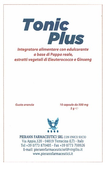 TONIC PLUS ARANCIA 10CPS prezzi bassi