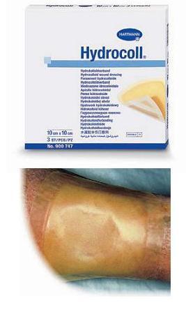 MEDICAZIONE STERILE IDROCOLLOIDALE HYDROCOLL 5X5 CM 10 PEZZI