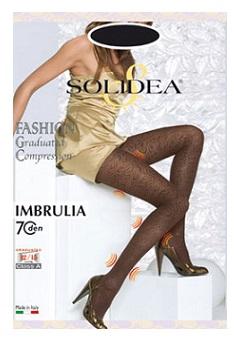 Solidea Imbrulia 70 DEN Collant Compressivo Colore Moka Taglia 2 M