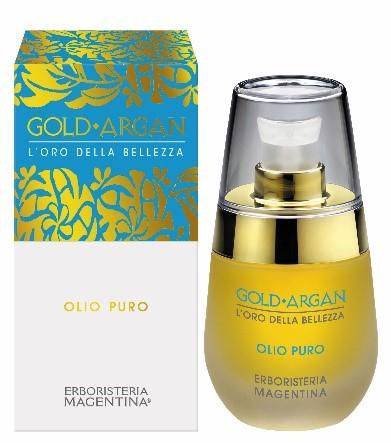 Erboristeria Magentina Gold Argan Olio Puro Multifunzionale 30 ml