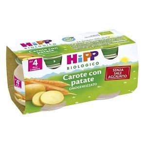 HIPP BIO HIPP BIO OMOGENEIZZATO CAROTE CON PATATE 2X80 G - Farmabellezza.it