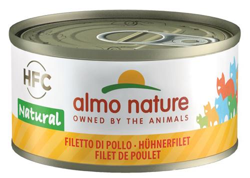 ALMO NATURE CAT FILETTO POLLO 70 G - FARMAEMPORIO