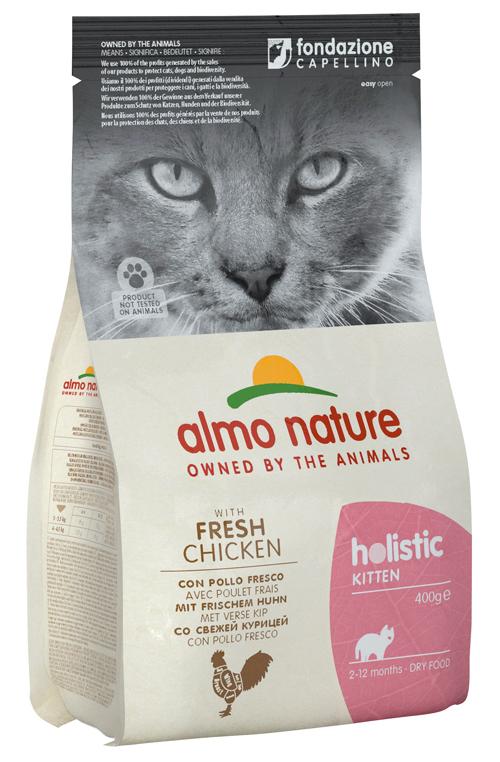 HOLISTIC CAT KITTEN POL/RIS400 - farmaciadeglispeziali.it