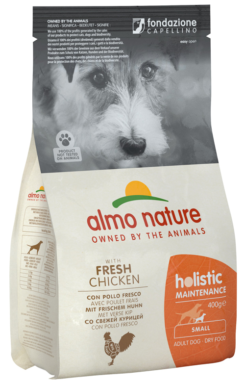 HOLISTIC DOG S POL/RISO 400G - farmaciadeglispeziali.it