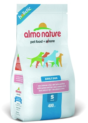 HOLISTIC DOG S SALM/RISO 400G - farmaciadeglispeziali.it