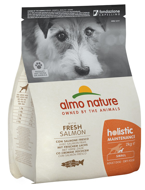 HOLISTIC DOG S SALMONE RISO 2 KG - farmaciadeglispeziali.it