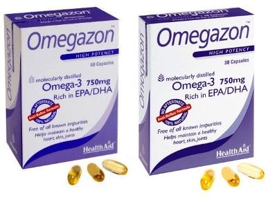 OMEGAZON 30 CAPSULE - Farmaseller