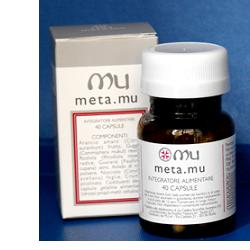 META MU 40 CAPSULE - Farmastar.it