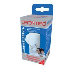 BENDA ELASTICA CEROXMED 6X450 CM CON GANCIO 1 PEZZO - La farmacia digitale