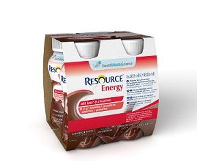 RESOURCE ENERGY CIOCCOLATO 4 BOTTIGLIE 200 ML - Farmacia Massaro