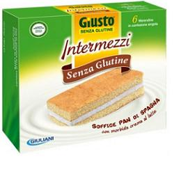Giusto Intermezzi Senza Glutine 180g - Farmaciacarpediem.it