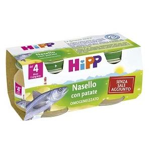 HIPP OMOGENEIZZATO NASELLO CON PATATE 2X80 G - DrStebe