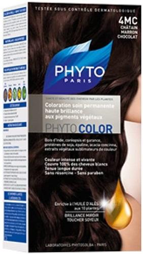 PHYTO PHYTOCOLOR 4MC CASTANO MARRONE CIOCCOLATO - Antica Farmacia Del Lago