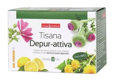 NATURPLUS TISANA DEPUR-ATTIVA 20 FILTRI - Farmafirst.it
