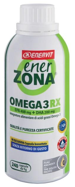 ENERZONA OMEGA 3 RX 240 CAPSULE - Spacefarma.it