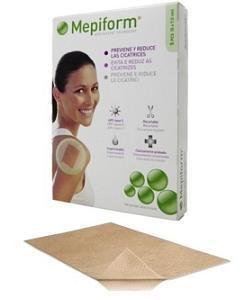 MEPIFORM MEDICAZIONE ATRAUMATICA PER CICATRICI CHELOIDI 10X18 CM 5 PEZZI - Farmaciaempatica.it