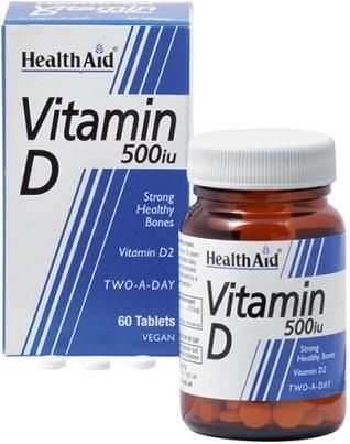 VITAMINA D 500IU 60 COMPRESSE - Farmacia della salute 360