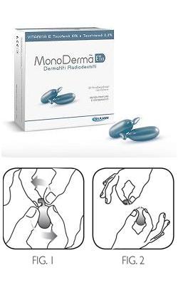 MONODERMA' ET10 VITAMINA E 10% TOCOTRIENOLI 0,3% 20 CAPSULE MONODOSE USO ESTERNO 0,9 ML - SUBITOINFARMA