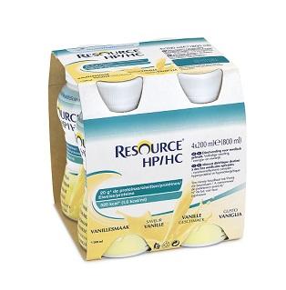 RESOURCE HP/HC VANIGLIA 4 BOTTIGLIE 200 ML - Parafarmacia Tranchina