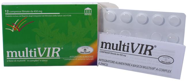 MULTIVIR 12 COMPRESSE FILMATE - Farmaseller