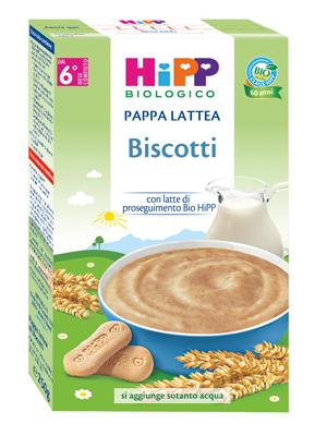 HIPP BIO PAPPA LATTEA BISCOTTI 250 G - Farmajoy