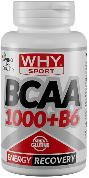 Why Sport BCAA +B6 100 COMPRESSE - Spacefarma.it