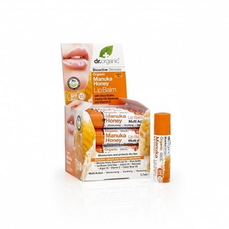 DR ORGANIC MANUKA HONEY MIELE DI MANUKA LIP BALM BALSAMO LABBRA 5,7 ML - La tua farmacia online