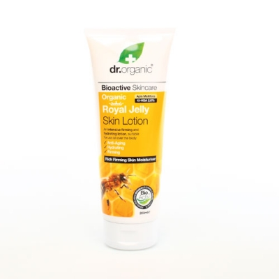 DR ORGANIC ROYAL JELLY PAPPA REALE SKIN LOTION LOZIONE CORPO 200 ML - Farmastar.it