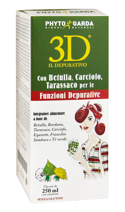 3D IL DEPURATIVO 250 ML - Spacefarma.it