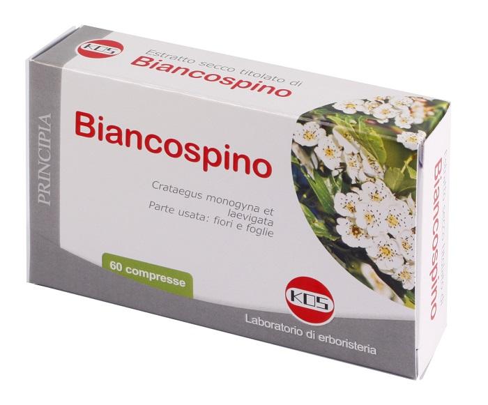 BIANCOSPINO ESTRATTO SECCO 60 COMPRESSE - Farmastar.it