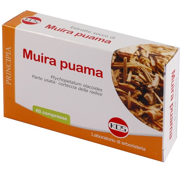 MUIRA PUAMA ESTRATTO SECCO 60 COMPRESSE - Spacefarma.it
