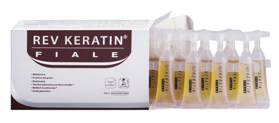 REV KERATIN FIALE 15 FIALE 5 ML - FARMAPRIME