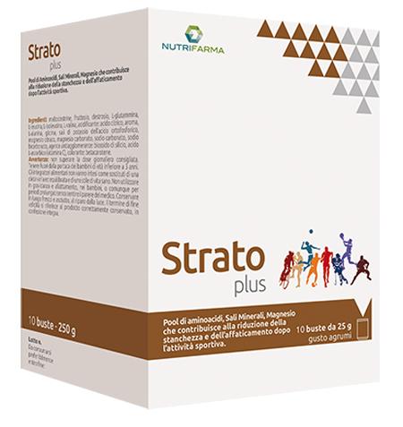 STRATO PLUS 10 BUSTINE 25 G - Farmacento