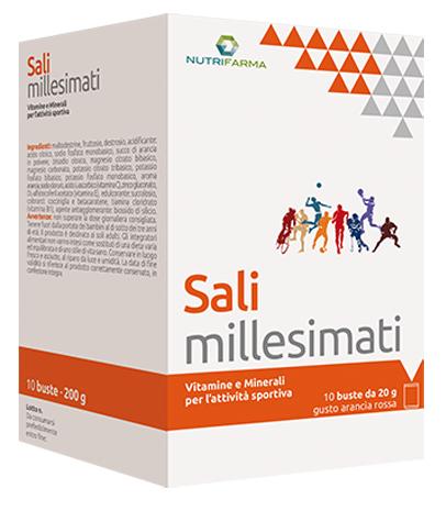 SALI MILLESIMATI 10 BUSTINE 20 G - Farmastar.it