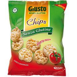 GIUSTO SENZA GLUTINE CHIPS PIZZA 30 G - FARMAPRIME