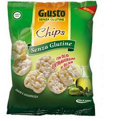 GIUSTO SENZA GLUTINE CHIPS OLIO EXTRAVERGINE 30 G - Farmaciasconti.it