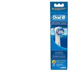 Oral-B  Precision Clean Testine Di Ricambio Per Spazzolino Elettrico 3 Ricambi - Zfarmacia