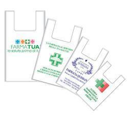 SHOPPERS BIOCOMPOSTABILE MATERBI 30 + 20 X 60 CM 5 KG - Farmacia Centrale Dr. Monteleone Adriano