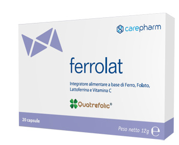FERROLAT 20 CAPSULE - Farmabros.it