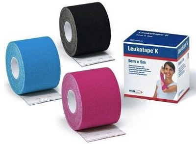 LEUKOTAPE K TAPING AZZURRO 5X500 CM - Farmawing